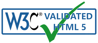 w3C Validated HTML 5